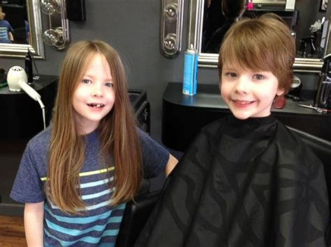 haircut by mom story mom and 6 sons cut their hair donate it to kids in need