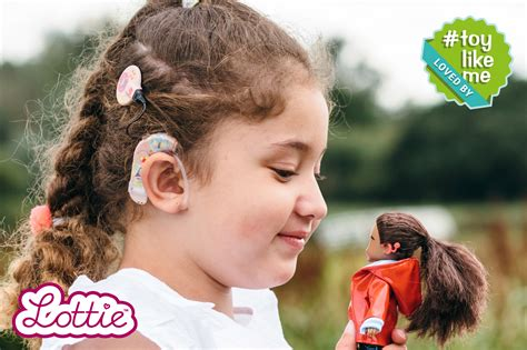 lottie dolls cochlear implant world s fashion doll with cochlear implant hits the