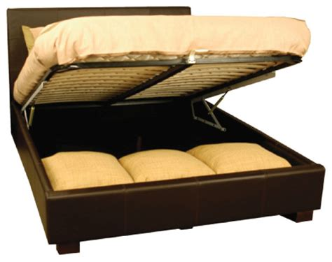 storage beds queen leather storage queen bed contemporary beds new york