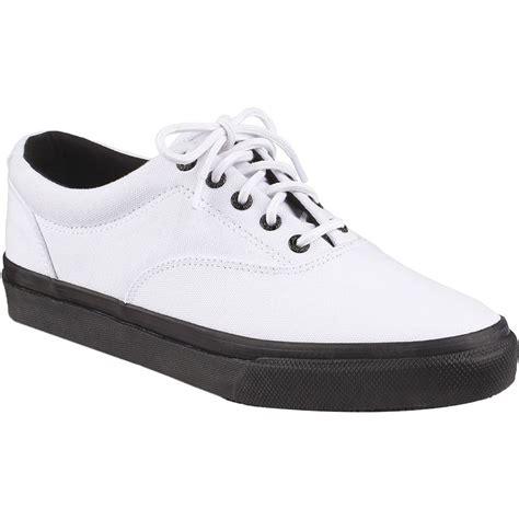 Striper White sperry top sider striper ll cvo white black shoe s