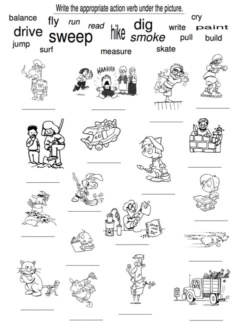coloring pages for verbs free coloring pages of words