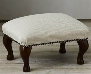 marlow upholstered footstool just ottomans