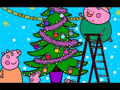 juegos de arboles de navidad juegos de peppa pig para colorear juegos de peppa pig en espa 241 ol la navidad con peppa pig