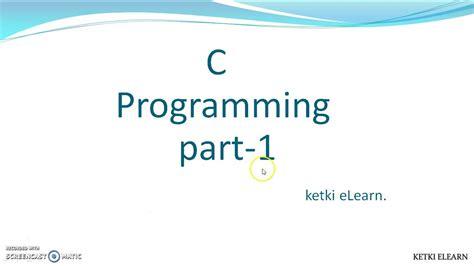 c programming tutorial for beginners c programming tutorial for beginner youtube