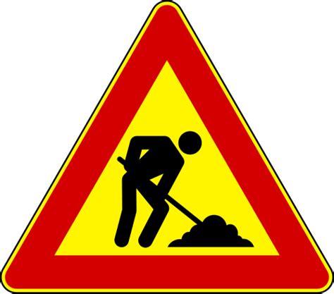 baustellen le road work