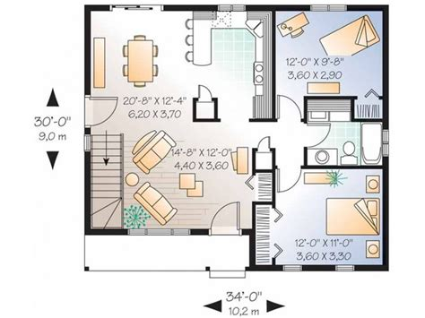 2 bedroom floor plan layout get small house get small house plans two bedroom house