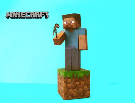 Papercraft Minecraft Steve - minecraft papercraft steve by poethetortoise on deviantart