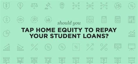 dangers of using home equity to pay debt student