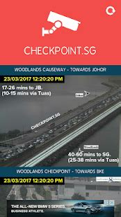 checkpoint.sg traffic camera app report on mobile action