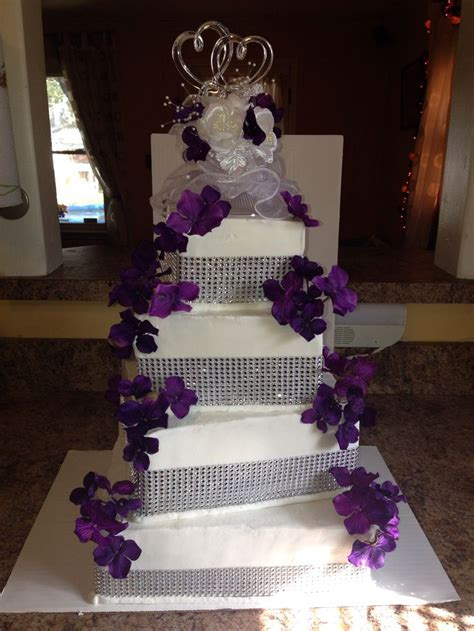 purple bling wedding cake 1000 images about october 4 2014 on