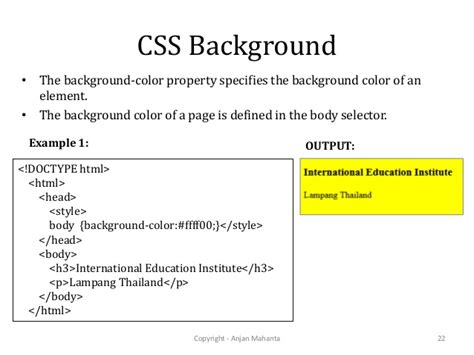 css layout ppt css background attribute background ideas