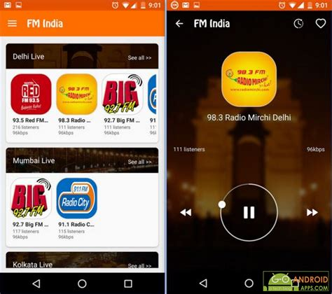best fm radio apps 5 best india radio apps for android appinformers