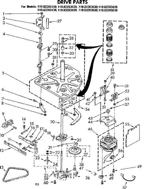 kenmore washer diagram kenmore 800 series washer schematic get free image about