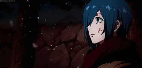 tokyo ghoul monochrome gif find share on giphy touka kirishima gifs find share on giphy