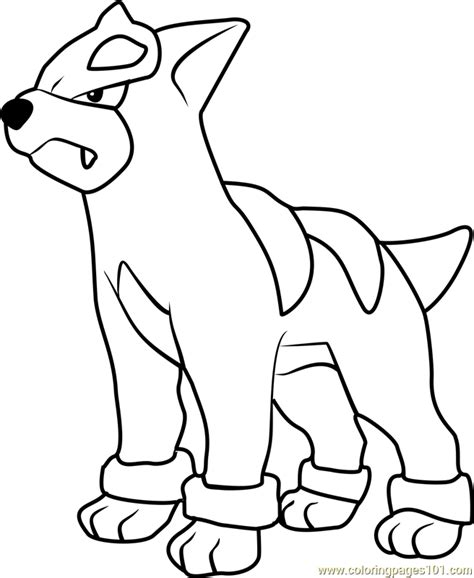 pokemon coloring pages houndoom houndour pokemon coloring page free pok 233 mon coloring