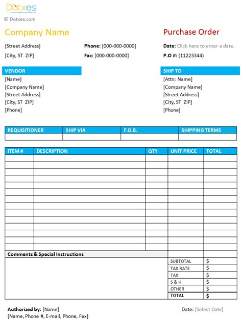 purchase order excel template best photos of free excel purchase order forms excel
