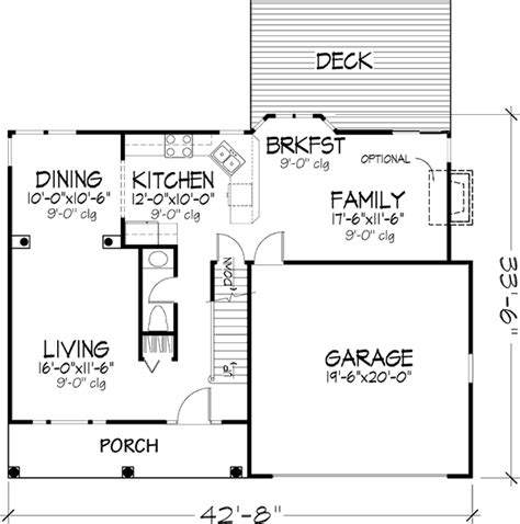 savoy floor plan the savoy 1241 4 bedrooms and 2 baths the house designers