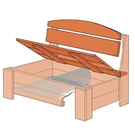 building a bench with storage how to build a bench with hidden storage el garaje blanco