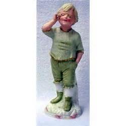heubach german porcelain figurine of boy with