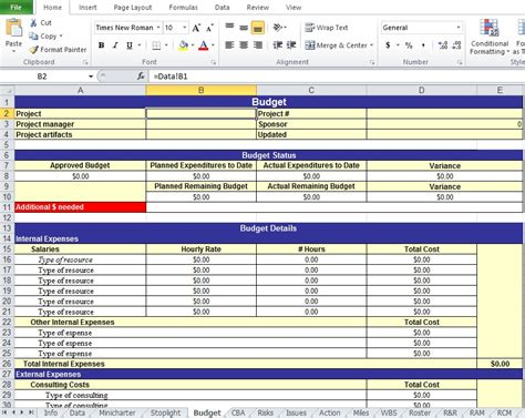 Project Plan Template Excel by Get Project Work Plan Template In Xls Excel Tmp