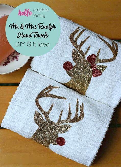 Handmade Hostess Gifts - handmade hostess gift idea mr and mrs rudolph