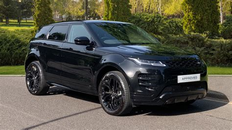 land rover range rover evoque    dynamic hse dr fixed panoramic roof privacy glass