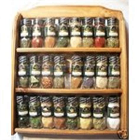 Mccormick Essentials Spice Rack new mccormick essentials wooden spice rack 24 jars 11 17 2007