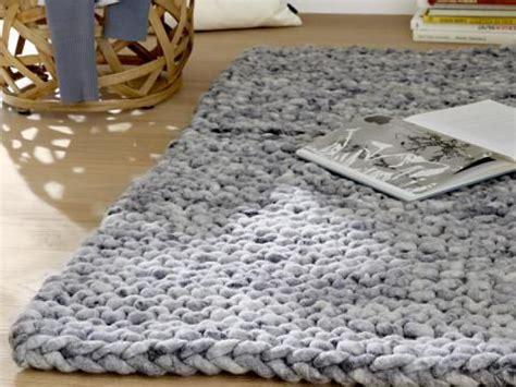 teppiche selber stricken 1000 ideas about gestrickter teppich auf