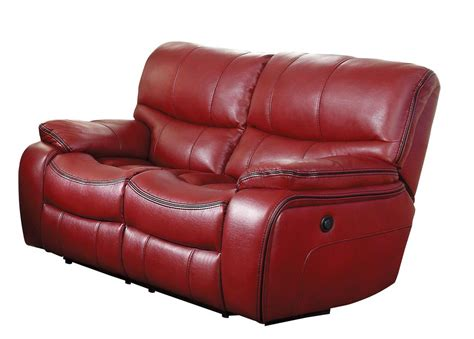 red recliner pecos red recliner loveseat andrew s furniture and mattress