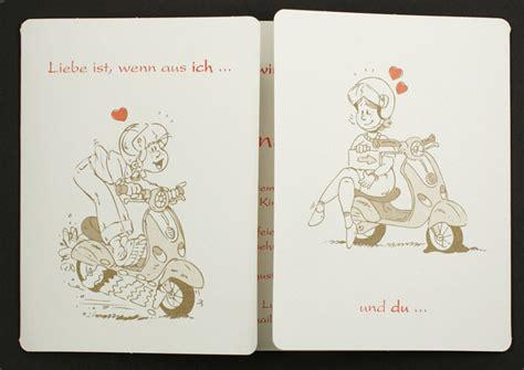 Hochzeitseinladung Comic Brautpaar by Hochzeitseinladung Comic Brautpaar Roller Vespa Pr16320
