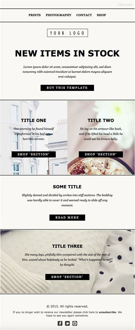 newsletter templates html code email newsletter template design clean html code