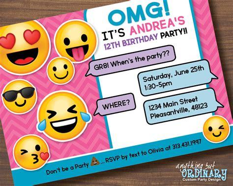 girls birthday party invitations birthday invites simple girl