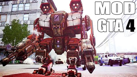 robot film gta v grand theft auto iv gameplay power armor robot mod for