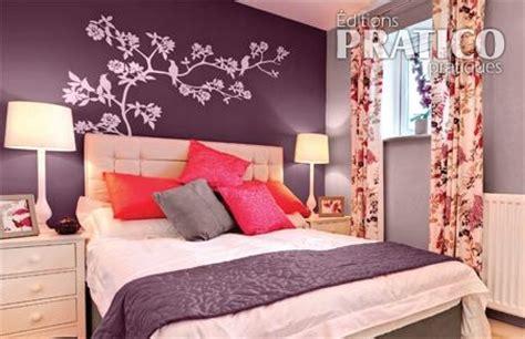 la couleur aubergine pour la chambre chambre
