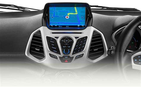 ford ecosport titanium trim gets new 8 inch touchscreen