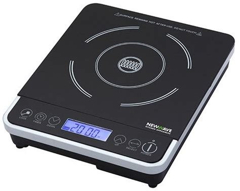 New Wave Cooktop new wave nw 300 portable induction cooker reviews