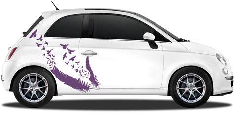 Autoaufkleber Vogel autoaufkleber v 246 gel aus feder filigranes autodekor