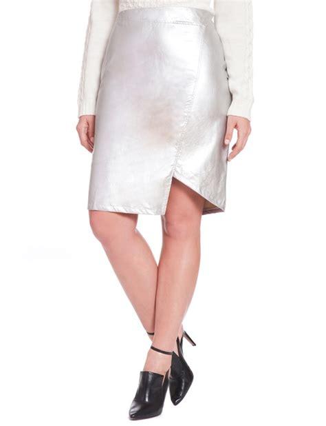 studio wrap metallic skirt s plus size skirts