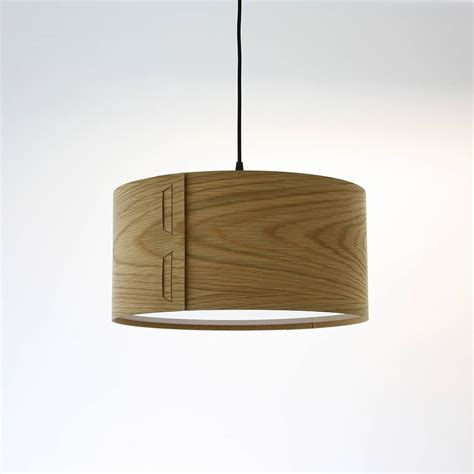Tab Wood Veneer Light Shade By John Green Light Shade