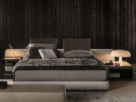 cama design minimalista da minotti decoracao  ideias
