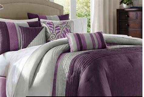 lavender and grey bedding purple and gray comforter sets