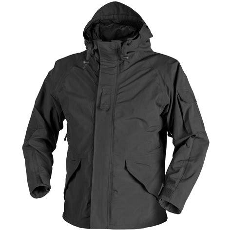 Jaket Parka Army Layer helikon ecwcs jacket generation i black ecwcs 1st