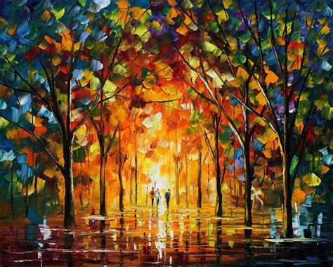 popular artwork afremov afremov paintings