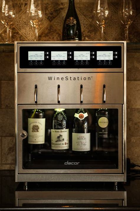 Wine Station In Kitchen by Dacor Introduces The Discovery Winestation