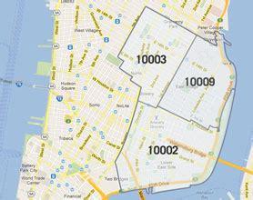 zip code map upper west side manhattan zip code