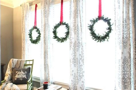 Wreaths In Windows Inspiration Wreaths In Windows Inspiration Add Cheer To Your Windows By Decorating Them For Home