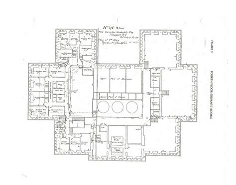 breakers mansion floor plan the breakers 4th floor gilded age mansions pinterest