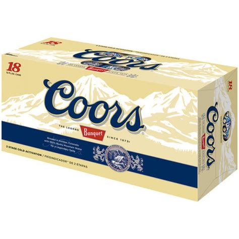 coors light 18 pack coors original 18 pack cans