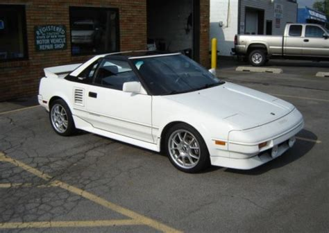 1988 toyota mr2 supercharged two owner supercharged 1988 toyota mr2 bring a trailer