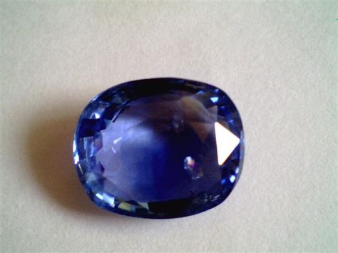 154 05 Ct Untreated Blue Opal 6 05 ct untreated ceylon blue sapphire real neelam